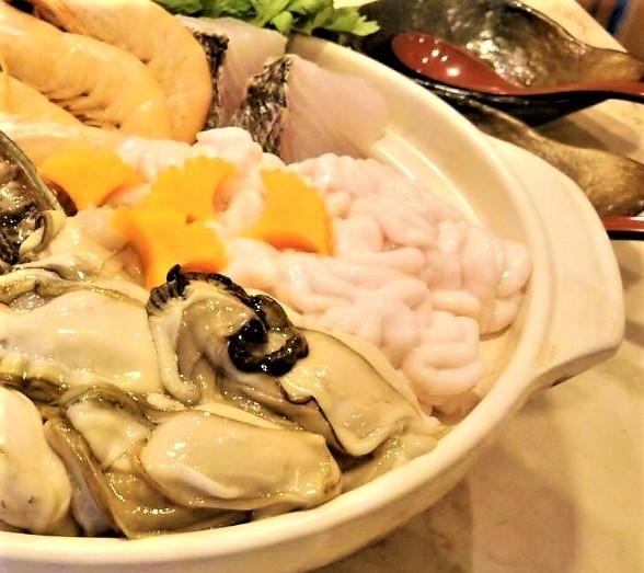 冬の魚介鍋コース