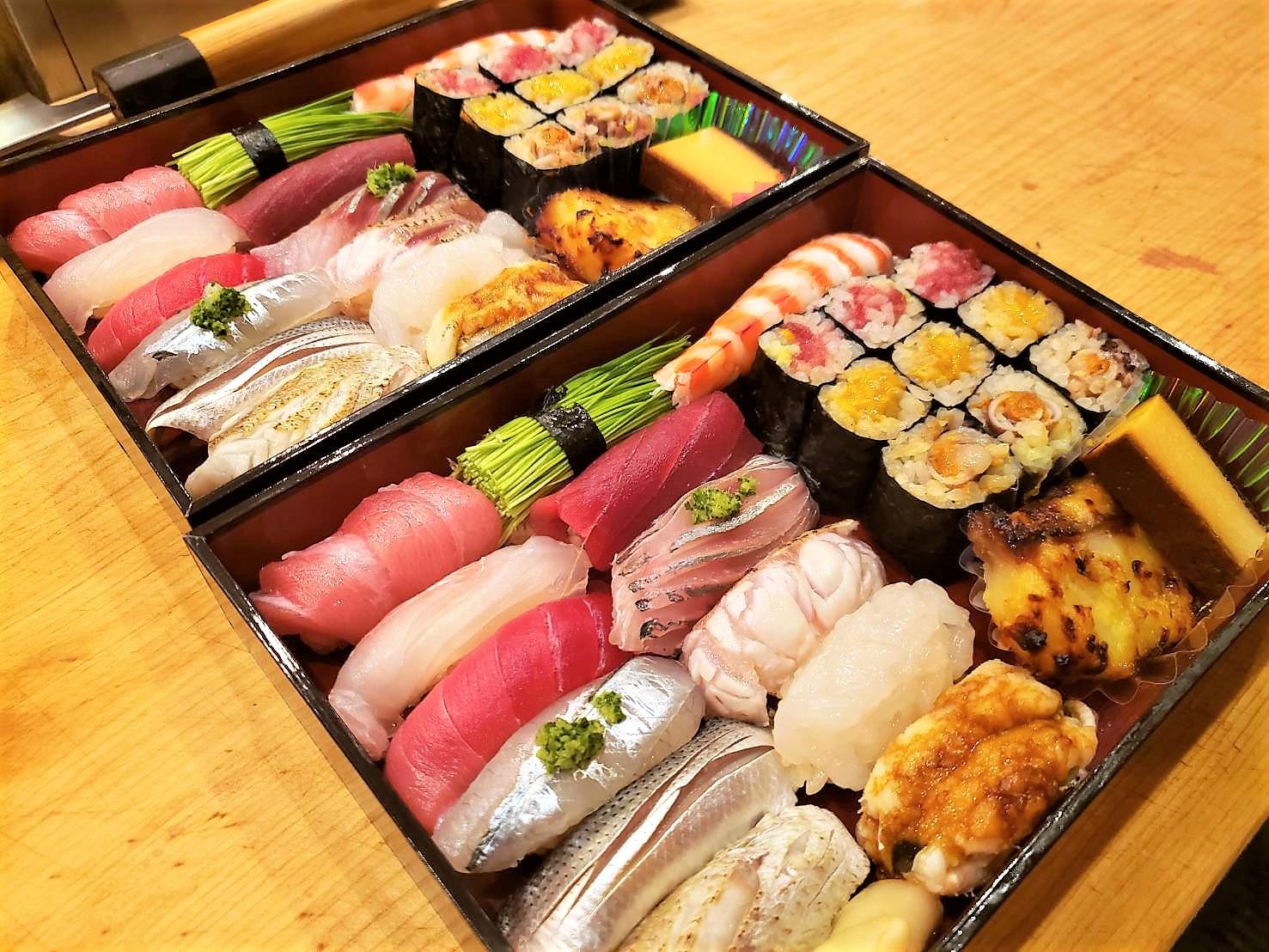 寿司折りテイクアウト